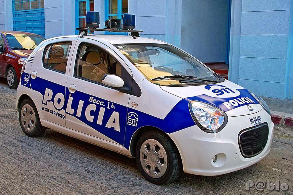 Geely LC de la policía de Montevideo