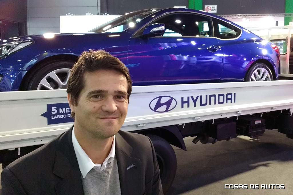 Ernesto Cavicchioli, vice-presidente de Hyundai Argentina