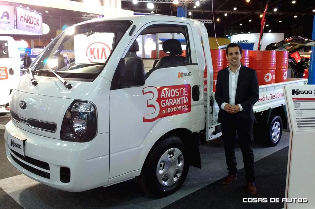 Kia ofrece test drive y bonificación de $42.500 para el K2500 en Expo Transporte