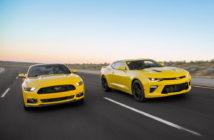 Mustang versus Camaro