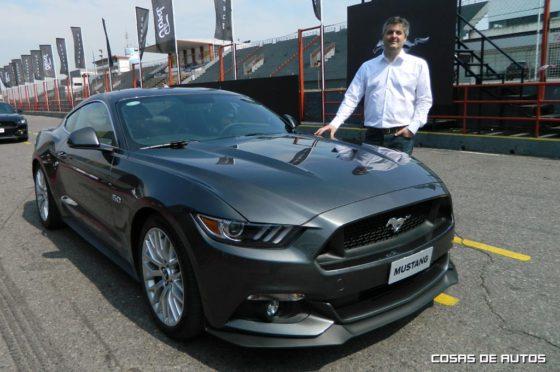 Marcelo Ramos, gerente de marketing de Ford