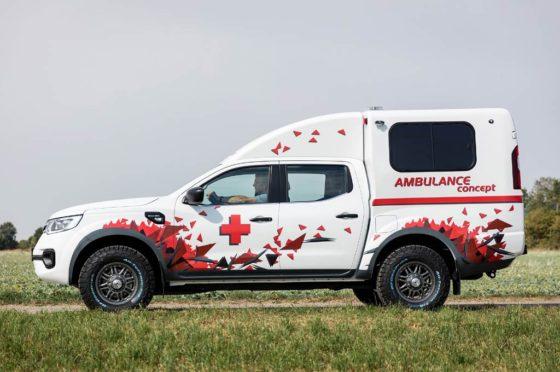Renault Alaskan Ambulancia