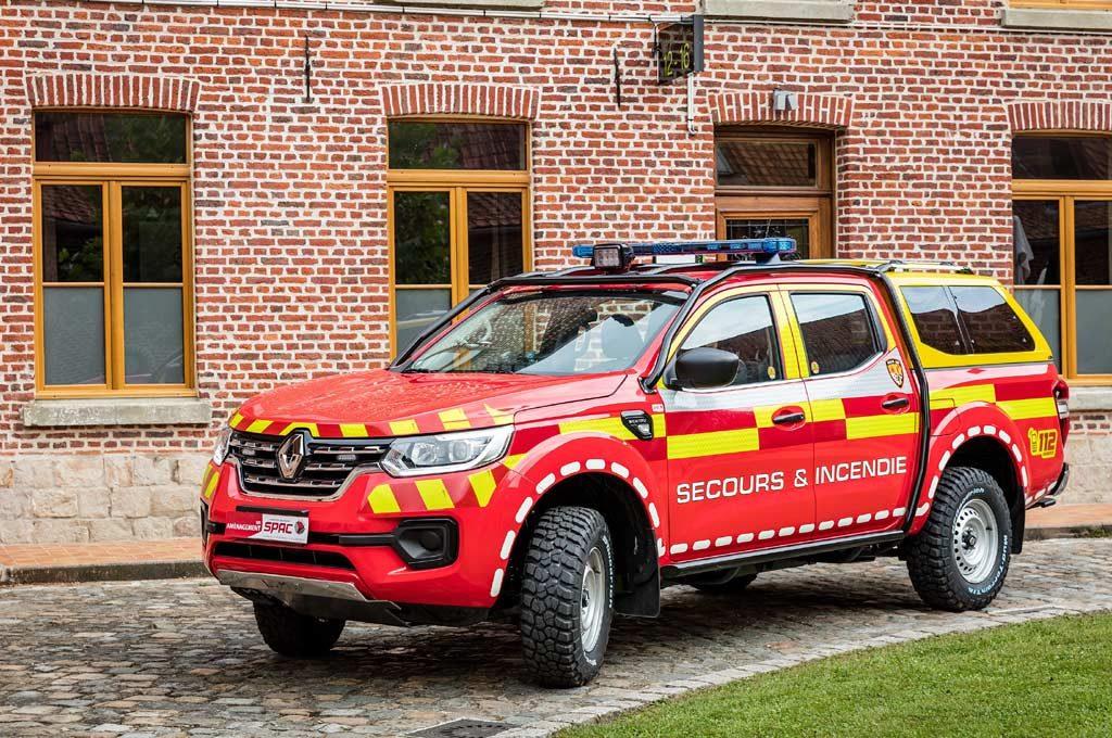 Renault Alaskan de Bomberos