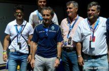 Emiliano Spataro y Alain Prost