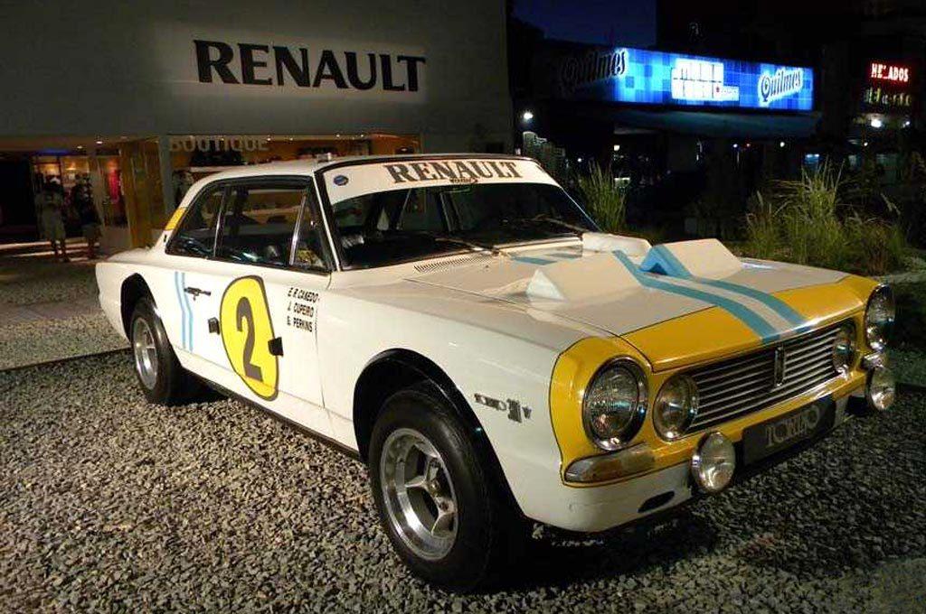Torino en stand de Renault
