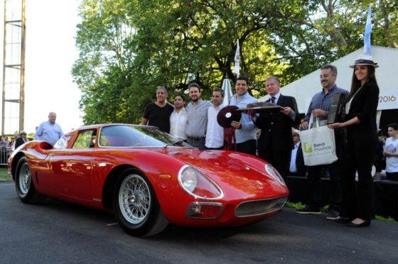 Una Ferrari 250 LM 1964 ganó Autoclásica 2016