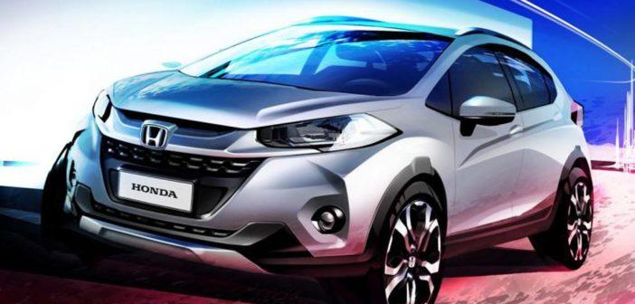 Oficial: Honda confirmó que el WR-V debutará en el Salón de San Pablo 2016