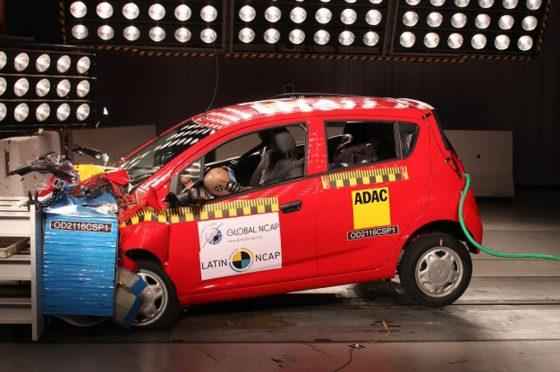 Chevrolet Spark GT ensayado por Latin NCAP
