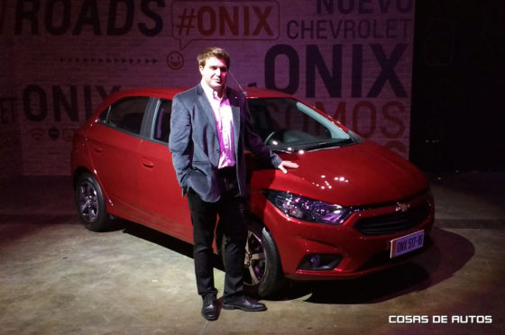 Nicolás Di Ció, gerente de Marketing de Chevrolet Argentina.