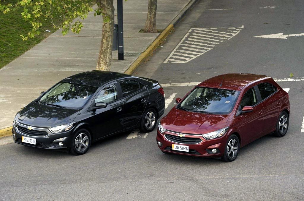 Nuevos Chevrolet Prisma y Onix