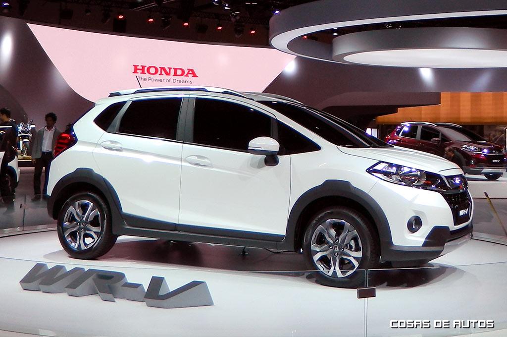 Honda Hr V 2017 >> Honda WR-V, el primer modelo desarrollado desde Brasil