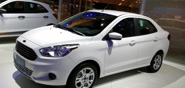 En 2017 Ford buscará ganar mercado a fuerza de lanzamientos como el del Ka sedán