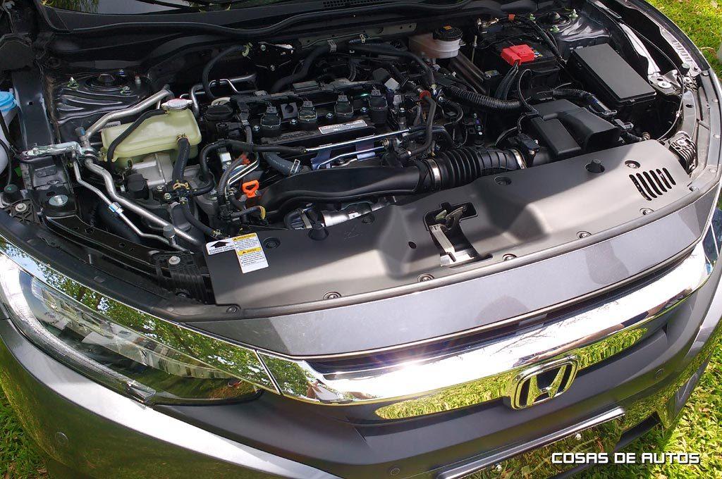 Motor 1.5 turbo de 173 cv del Nuevo Civic