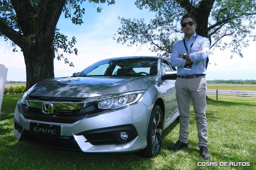 Federico Vahle, gerente senior de la División Comercial de Honda Argentina
