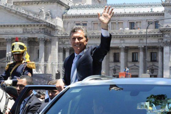 Macri usará un auto blindado