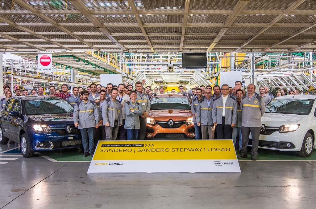 Renault Sandero Logan en Argentina