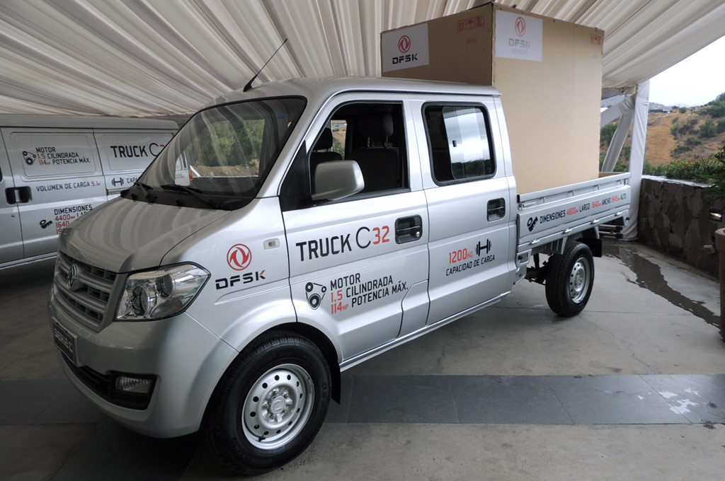 DFSK C32 Truck Doble Cabina - Foto: autosusados.cl