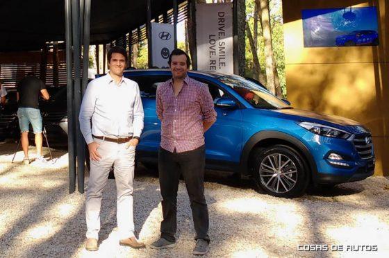 Ernesto Cavicchioli, vice-presidente, y Santiago Rodríguez, responsable comercial