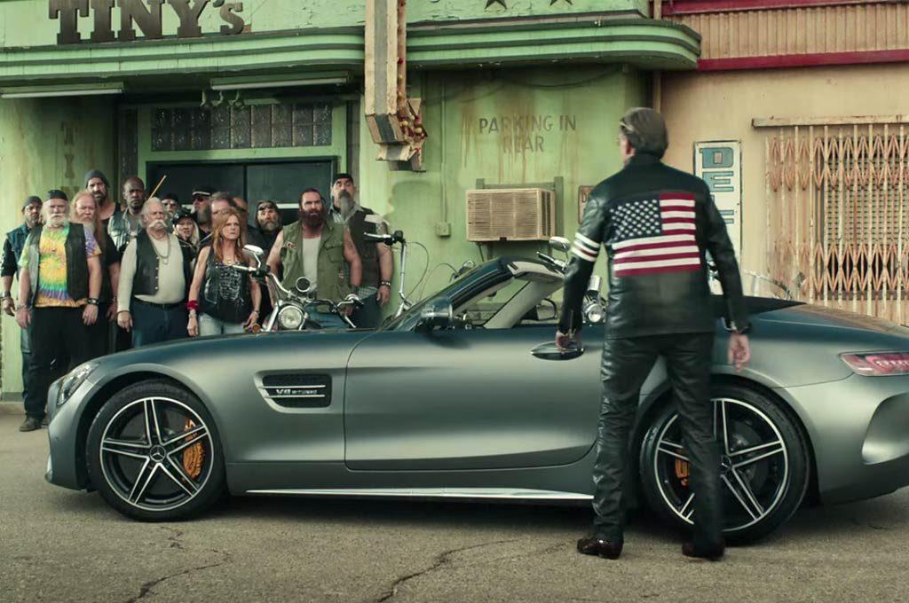 Mercedes-AMG GT con Peter Fonda