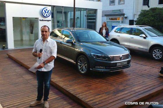 Stand de VW en Cariló