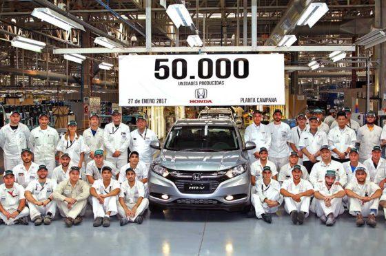 Honda Argentina 50 mil unidades