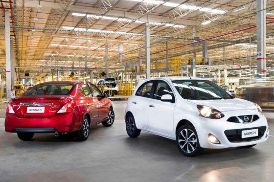 Nissan March y Versa en Resende