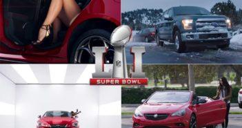 Las publicidades de la industria automotriz de la final del Super Bowl LI