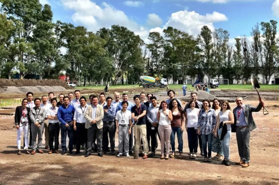 Comenzó la construcción de la nueva sede de Nissan en Córdoba