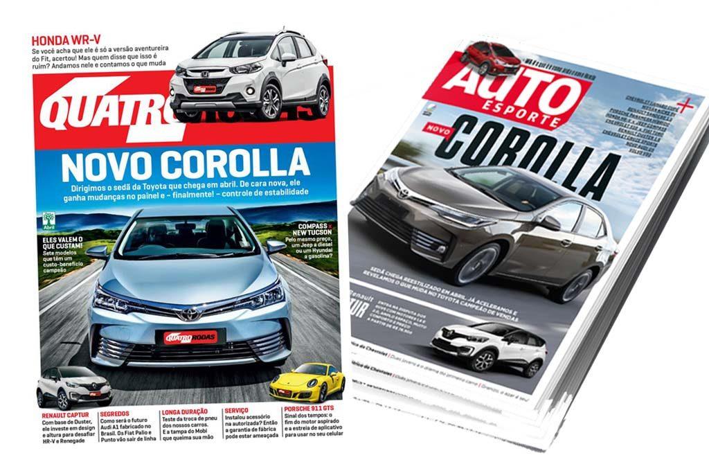 Nuevo Corolla en la prensa de Brasil