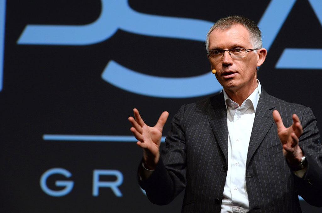 Carlos Tavare, titular del Grupo PSA
