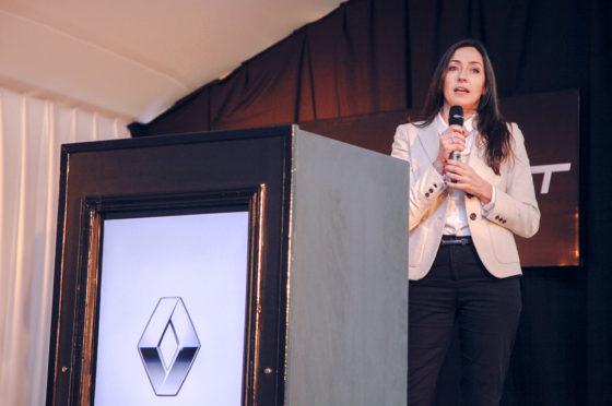Julieta Rotger de Renault Argentina