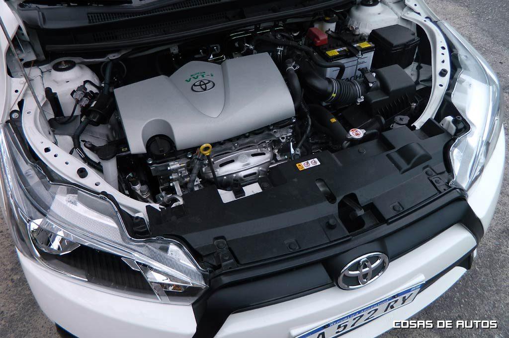 Test Toyota Yaris - Foto: Cosas de Autos