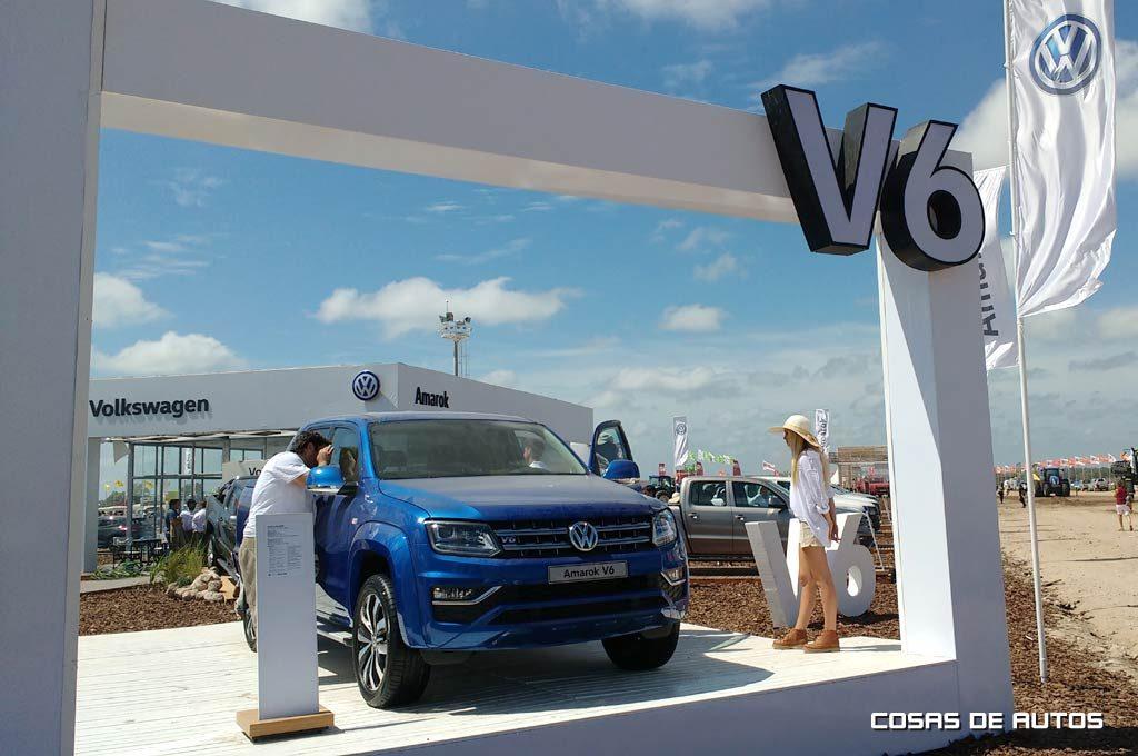 VW Amarok en ExpoAgro
