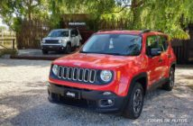 Jeep Renegade en Off Road Park en Pinamar