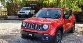 Jeep Renegade en Off Road Park en Pinamar