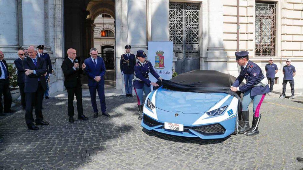 Lamborghini Huracán de la Policía de Bolonia