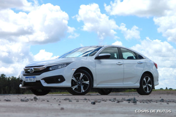 Test del Honda Civic 1.5 Turbo - Foto: Cosas de Autos
