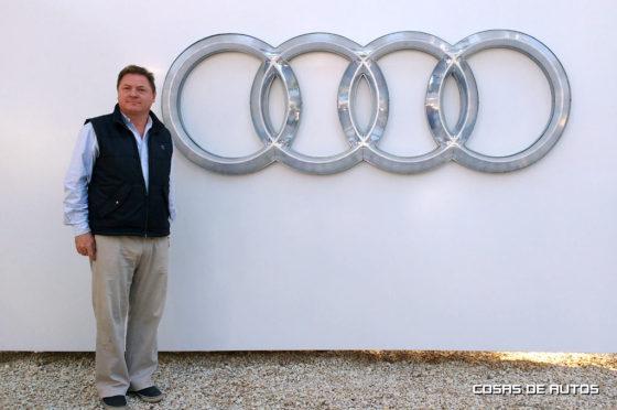 Conrado Wittstatt, gerente general de Audi Argentina.