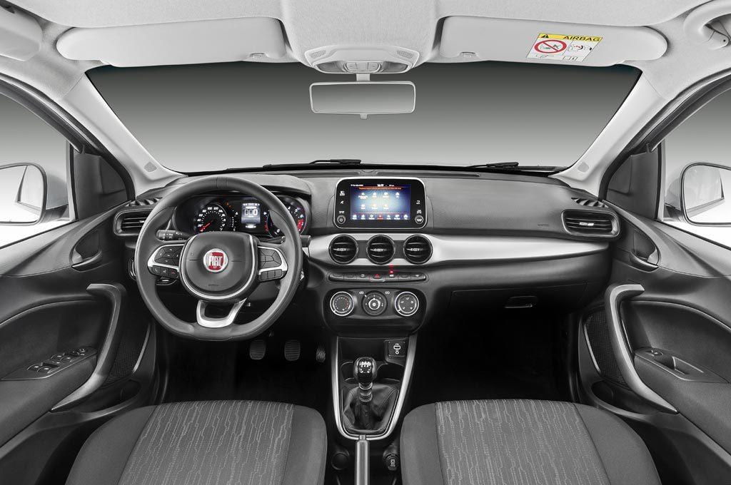 Interior del Fiat Argo 1.3