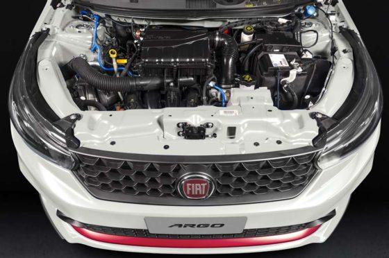 Motor 1.8 del Fiat Argo (en este caso en el HGT)