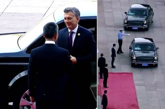 El presidente Macri en China