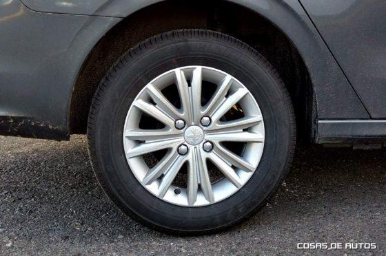 """Llantas de 15"""" del Peugeot 301"""