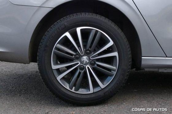 """Llantas de 16"""" del Peugeot 301"""