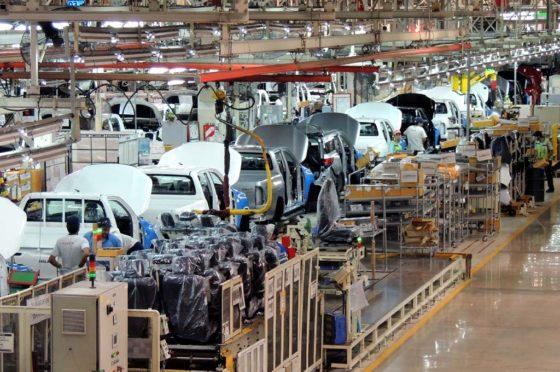 Planta de Toyota en Zárate