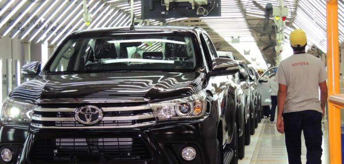 Toyota Argentina aumenta un 14% la producción en Zárate y supera el máximo de su capacidad instalada