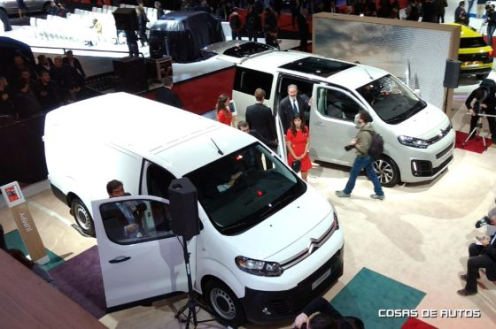 Citroen Jumpy y Spacetourer