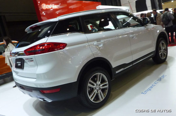 Geely Emgrand X7 Sport