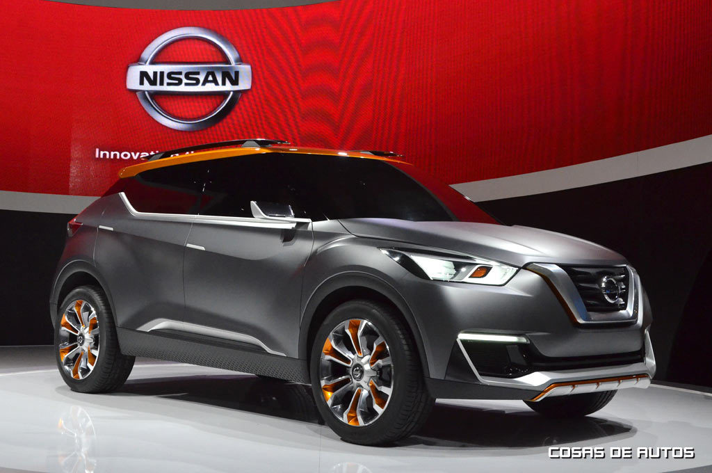 Nissan Kicks concept, presentado en el Salón de San Pablo 2014 - Foto: Cosas de Autos