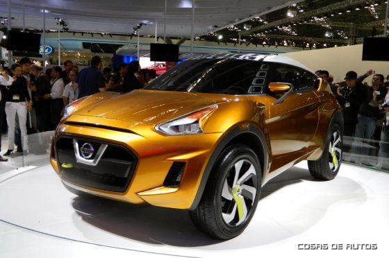 Nissan Xtreme concept, presentado en el Salón de San Pablo 2012 - Foto: Cosas de Autos