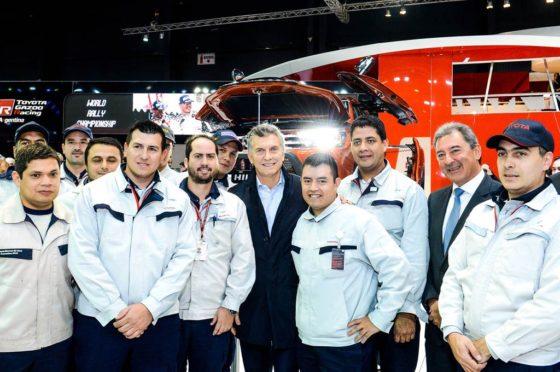 Macri en el Salón de Buenos Aires